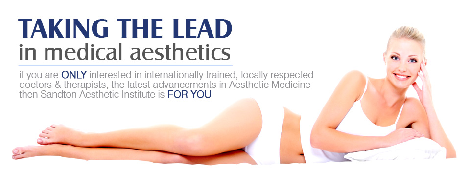 Taking the lead in medical aesthetics